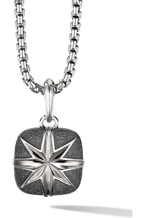 David Yurman Man Halsband - Sterling North Star cush pendant enhancer